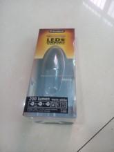 Printing blister folding box for LED light packaging