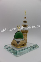Masjid Madina mosque crystal muslim building,crystal madina mosque model