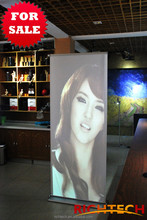 roll up banner stand, used for exhibition, retail store, super market