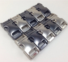 10mm(3/8) zinc alloy high quality metal buckle quick clip,side release buckle metal