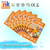 China Factory Wholesale Suppliers high quality inkjet Glossy photo paper