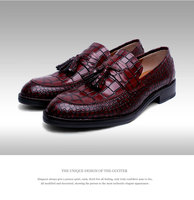 Customized Baby calf Men's shoes durability and repair qualities