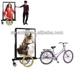 backpack type photo frame with LED Moving Message Top quality distributor