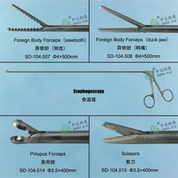 China's Best Surgical Instrument Esophagoscope Foreign Body Forceps(Sawtooth)