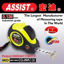 60 carbon stainless steel 2 stops economic 5m*19mm with carrying belt customized tape measure power tools