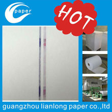 cotton linen paper, 100% cotton paper with security thread watermark