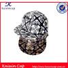 Fashion Baseball Cap Hip Hop Style Zebra-Stripe Flat Bill Snapback Hat