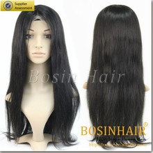 2015 new arrival 6A 140% density 30inch full lace wigs Straight Hair Brazilian hair