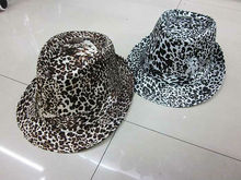 party hat with leopard print
