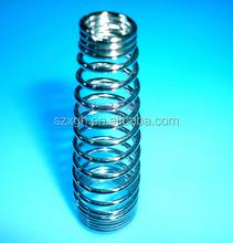 2015 hot sale customized galvanized hair clip spring