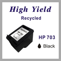 Remanufactured Black / Color Inkjet Cartridge for HP 703