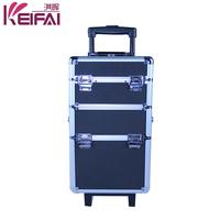 Factory Customizable Exquisite Rolling Aluminum Cosmetic Case