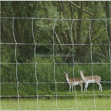 galvanized wire animal fence/deer fence