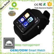 Vibrating alarm oled bluetooth smart set digital wrist watch