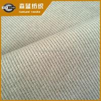 knitted 2*2 cotton spandex rib