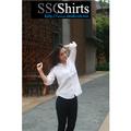 2014 100% de moda casual blusa de lino choli para blusa de diseños