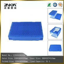 stackable transparent Plastic Material storage box for packaging usage