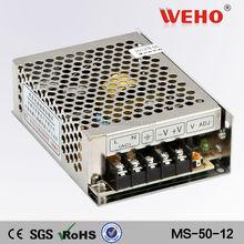 2015 Hot sale 4.2a mini Single Output 12v 50w ac/dc power supply industrial led driver psu