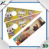 Custom Cartoon printing Lenticular 3D ruler, plastic ruler