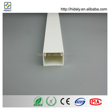Hydroponics PVC Trunking Channels For Cable Network