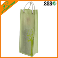 Promotional Recycled give away gift Nonwoven single wine bag