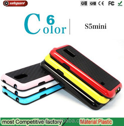 Factory Direct Dual Color 3D Wall TPU PC shenzhen phone case for samsung galaxy s5 i9600