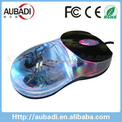 Cheap Liquid Custom Logo Wireless wired Mouse Factory