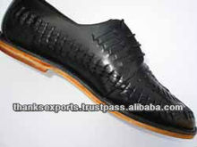 XY/civil service formal classic brown pattern design office shoes for men