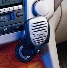 Innovative Car Air Purifier,Plug in Car Air Freshener w/Negative Ionzier, Built-in Fan & Activated Carbon Filter-IONCARE GH2110