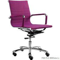 Guangzhou mobilier de bureau purple fabric office computer desk chair(FOH-F15-B06)
