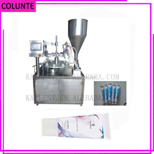 High speed lipstick filling packing machine