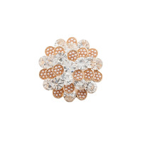 Hot trendy channel brooch wholesale rhinestone brooches for women