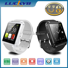 Hot sales U8 Smart Watch U8 Pro Bluetooth Phone Mate Smartwatch U Watch Wrist for Android for iPhone 4 4S 5 5S Sumsung