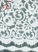 2015 Bridal design high quality white african cord lace
