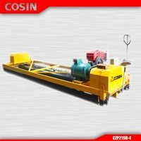Compacting and finishing concrete paver, road leveling roller machine, power paver machine with honda engine