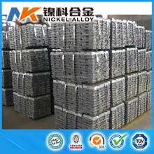 China manufacturer high purity zinc ingot 99.995
