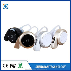 Factory direct sale mobile phone mini wireless bluetooth earphone