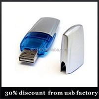 custom bulk 8GB plastic flash drives usb