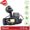 gps logger car driving recorder R300 dual camera factory wholesale