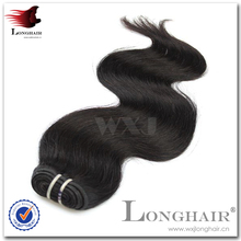 Grade 7A Virgin Brazilian Weave Human Hair Remi