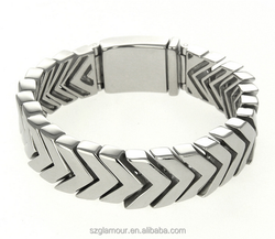 Shenzhen GLAMOUR Attractive Design 316L Stainless Steel Cool Fashion Wholesale one direction bracelet