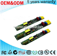 china manufactory output dc voltage 30-84v adjust current 100ma - 240ma power supply for led tube driver