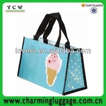 fashion non woven pp bag/non woven laminated bag shopping bag