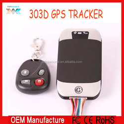 Manufactory directly sale ! Vehicle Car GPS/GSM/GPRS/SMS Tracker GPS 303D, Remote Control, Google Map, With best quality,