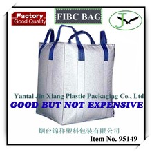 100% polypropylene PP woven jumbo bag and price factory in Shandong big bag with spout bottom