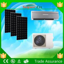 Cassette type air conditioners ,24v 12000btu cooling system hybride solar split air conditioner