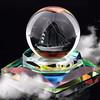 Artistic Innovation Crystal Balls Wholesale Perfume Bottles With Inner Laser