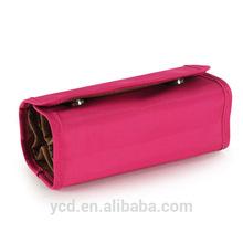 YCD 2015 Pink Jewelry Portable Storage Purse Bag And Evening Handbag
