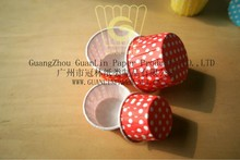 Candy Cups Yellow Polka Dot Design NC-003