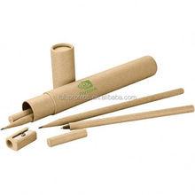 Ambrose pen and pencil set; Clip Plastic Pen; Plastic Ballpoint pen (LU-Q05123)
